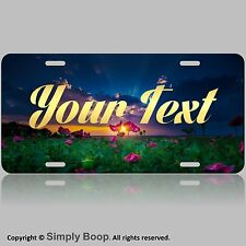 Personalized Custom License Plate Auto Car Tag Sunset Sunrise Your Text New Cool