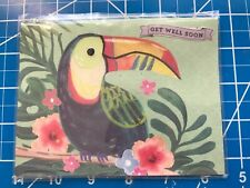 Get Well Card Tropical Bird So Colorful Think Of Gotta Times.