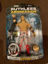 WWE Jakks SIGNED Edge 1/500 Leather Belt Action Figure Ruthless Aggression 29