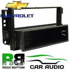 Chevrolet Captiva 2007 On Single Din Car Stereo Radio Fascia Panel