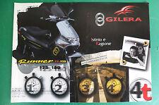 GILERA RUNNER VX125 VXR180 DEPLIANT BROCHURE CATALOGO CATALOG
