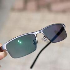Transition Myopia glasses Single vision for Distance lenses Half frame Optical