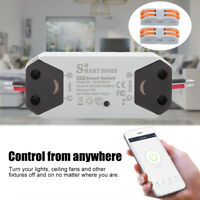 95-250V WiFi Light Switch Universal Breaker Remote Control w/ Alexa Google Home