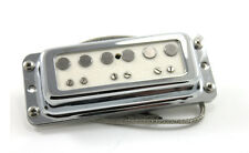 FrankenTone Chester Pickup Set - DeArmond mount Alnico Single Coil - White
