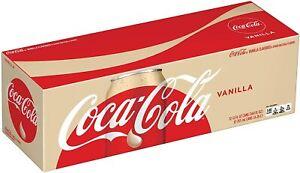 Coca Cola Vanilla American Soda 12fl.oz (355ml) Can 12-Pack-BBF 16.08.2021