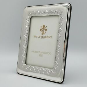 """5""""x3,5"""" in Solid 925 Sterling Silver Photo Picture Frame * 1015 /9×13 USA"""