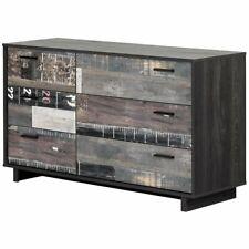 South Shore Fynn 6 Drawer Dresser in Gray Oak