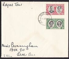 Southern Rhodesia - 1947 Royal Tour on Cover - stamped Queque April 1947 (N64)