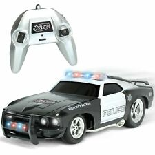 Remote Control Police Car with Flashing Lights & Sounds 2.4GHz for Boys & Girls