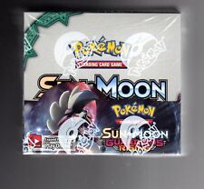 Pokemon TCG Sun And The Moon Guardian Rising Booster Sealed Box 36 packs INGLISH