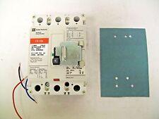 Cutler Hammer FD3015 3 Pole 15 Amp 600 Volt Circuit Breaker with Aux & Barrier
