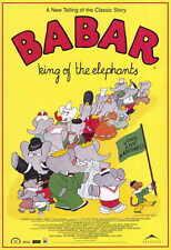 BABAR: KING OF THE ELEPHANTS Movie Promo POSTER Philip Williams Wayne Robson