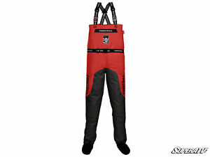 SuperATV Aquamaster Waterproof Waders / Riding Suit - Red - Size 2X Large