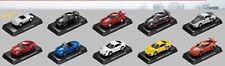 Taiwan Kyosho Exclusive Porsche 911 Classic 1/64 Die Cast Car Full Set 10 pcs