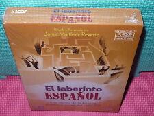 EL LABERINTO ESPAÑOL - 5 DVD  - NUEVA - programa completo