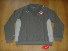 Olympiacos Soccer Sweat Shirt Puma Top Greece Football Olympiakos Sweatshirt NEW