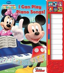 Mickey Mouse I Can Play Piano Songs!: Play-a-song Board Book. Sealed