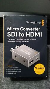Blackmagic Design Micro Converter SDI to HDMI w/ Power Supply