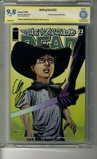 Walking Dead # 52 - CBCS 9.8 WHITE Pages - SS Chandler Riggs