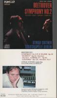 Beethoven Symphony n°2 Overtures Egmont CD ALBUM Omar Suitner japan press no obi