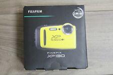 Fujifilm Finepix XP130 Shock & Waterproof Wi-Fi Digital Camera - Yellow