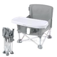 SUMMER INFANT POP N SIT FOLDING BOOSTER SEAT - Grey