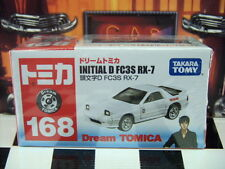 TOMICA #168 INITIAL D FC3S MAZDA RX-7 SCALE NEW IN BOX DREAM TOMICA SERIES