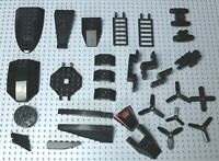 LEGO Black Plane /Boat/Space Wedges, Engines, Ladders, Propellers etc W337/8