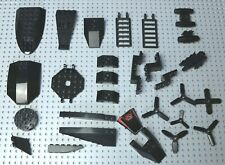 LEGO Black Plane /Boat/Space Wedges, Engines, Ladders, Propellers etc W337/8