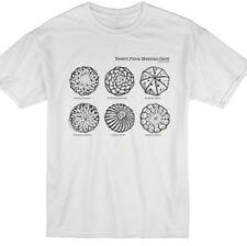 Desert Flora White Cactus T Shirt S-XL—Peyote, Lophophora Succulent Nature shirt
