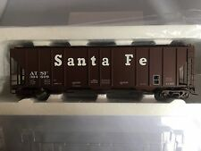 ATLAS #7388-3 O SCALE PS-4427 LOW SIDE COVERED HOPPER SANTA FE #304609 (2 RAIL)