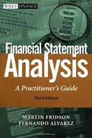Financial Statement Analysis A Practitioner's Guide by Martin Fridson