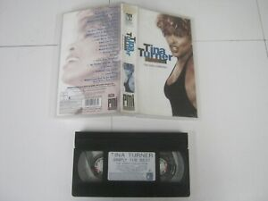 Vhs Music Tape TINA TURNER SIMPLY THE BEST THE VIDEO COLLECTION 1624