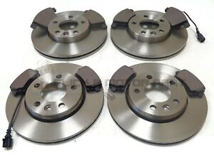 VW CARAVELLE T5 1.9 TDi 2.0 TDi 2.5 FRONT & REAR BRAKE DISCS AND PADS SET NEW