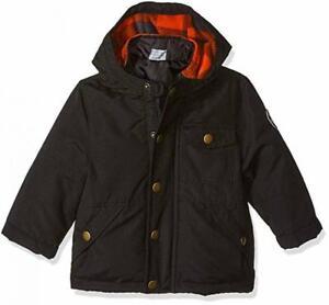 Osh Kosh B'gosh Infant Boys Black 4 in 1 Outerwear Jacket Size 12M 18M 24M