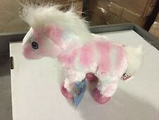 Webkinz Pink Pony HM117 Soft Plush Animal With Online Code From Ganz Horse