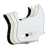 NEW 4PCS 4-String Electric Bass Pickguards 10Holes 3Ply PVC for FD Jazz Bass
