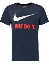 Magliette da uomo blu Nike taglia L
