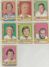 1972 73 OPC O Pee Chee Complete Set 1-341 Bobby Orr Hull Dryden Unmarked C/L EX