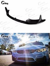 CARKING 15+ MATTE BLACK BMW F80 F82 F83 M3/M4 P style FRONT LIP SPLITTER SPOILER
