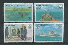 Kiribati SG158-161 1981 Tuna Fishing Unhinged Mint