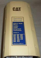 Cat Caterpillar 950g 962g Wheel Loader Service Shop Repair Book Manual Vol Ii