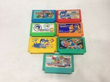 Lot 7 Rockman 1 2 3 4 5 6 Rock Board Mega Man FC Nintendo Famicom NES Import