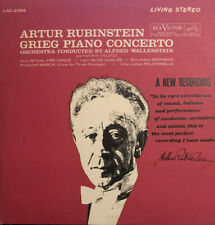 Artur Rubinstein - Grieg Piano Concerto and Favorite Encores LP RCA LSC-2566, NM