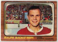 1966-67 Topps Hockey #75 Ralph Backstrom G-VG Condition (2020-03)