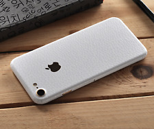 iPhone Leather 7 Colours Full Back 360 Vinyl Skin Sticker Skin Wrap Cover Case