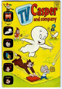 TV CASPER AND COMPANY #33 in FN/VF condition  Harvey 1971 comic w/ LITTLE AUDREY