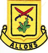 11h Cavalry Regt - US Army - Ecusson / Insigne tissus