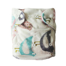 1 Alva BABY OS Re-Usable CLOTH DIAPERS NAPPY 1 INSERT Adorable Minky P06