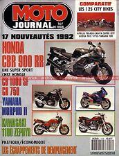 MOTO JOURNAL 1008 Essai Road Test YAMAHA 125 TDR GILERA Freestyle APRILIA Pegaso
